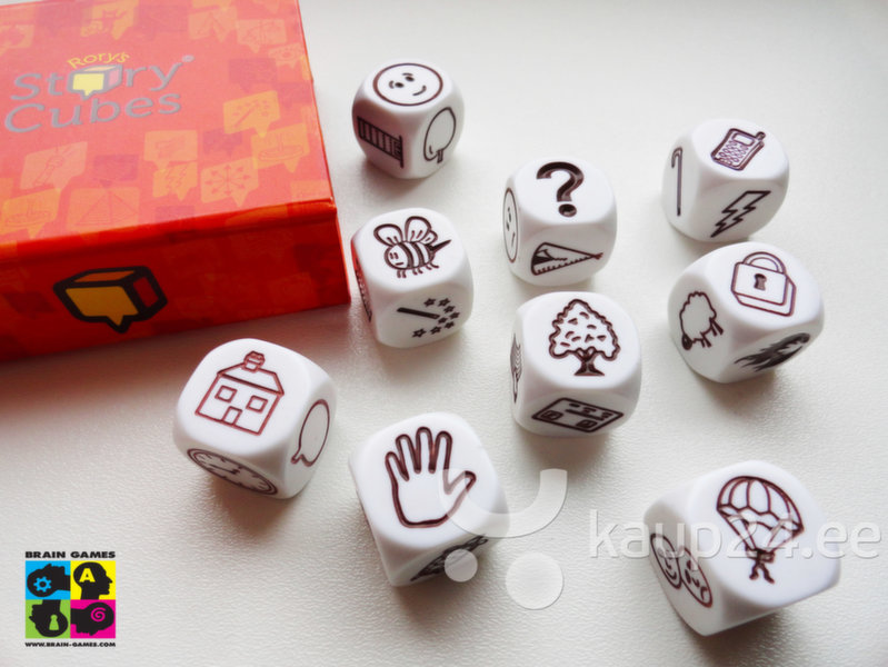 Mäng Rory's Story Cubes hind
