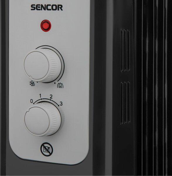 Õliradiaator SENCOR SOH 3311BK, 2300W, 11 sektsiooni Internetist
