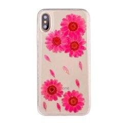Etui Flower telefoniümbris, iPhone XS / X hind ja info | Telefoni kaaned, ümbrised | kaup24.ee
