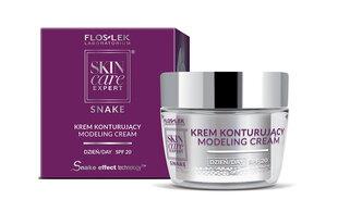 Modelleeriv päevane näokreem Floslek Skin Care Expert Snake SPF 20 50 ml
