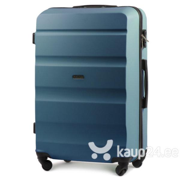 Большой чемодан Wings L AT01, светло-синий