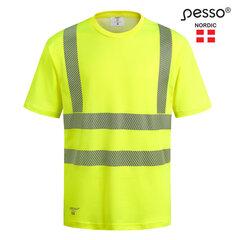 T-särk Pesso HVMCOT HI-VIS, kollane