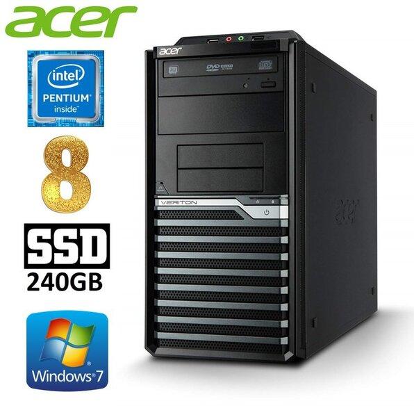 Lauaarvuti Acer Veriton M4620G MT G645 8GB 240SSD DVD WIN7Pro