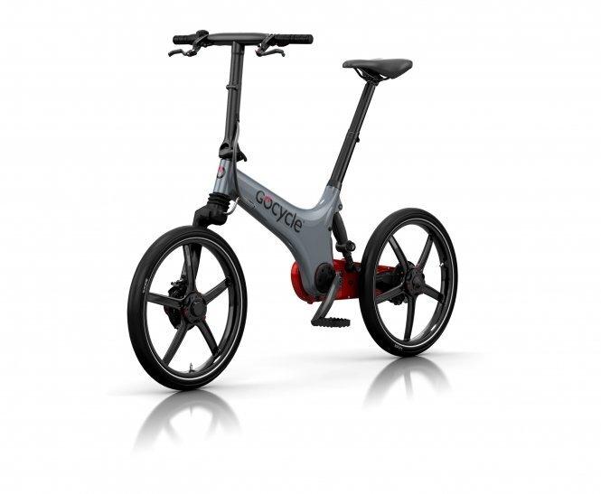 Kokkupandav elektriline jalgratas GoCycle GS, hall-punane Internetist