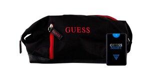 Komplekt Guess: tualettvesi Guess Night EDT meestele 20 ml + kosmeetikakott