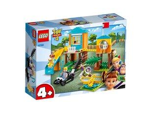 10768 LEGO® Disney Pixar Toy Story 4  Buzz ja Bo Peep seiklustest mänguväljakul hind ja info | 10768 LEGO® Disney Pixar Toy Story 4  Buzz ja Bo Peep seiklustest mänguväljakul | kaup24.ee