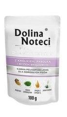 Konserv koertele Dolina Noteci Premium küülikuliha, ubade ja pruuni riisiga, 100 g
