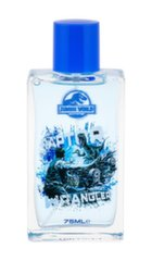 Tualettvesi lastele Universal Jurassic World EDT 75 ml
