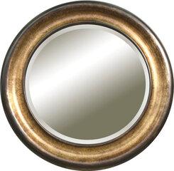 Peegel Carpi, 82x82 cm, hõbe/pruun värv