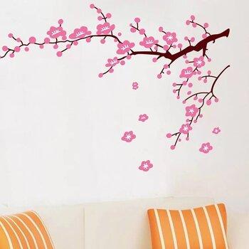 "Interjööri kleebis ""Sakura õied"""