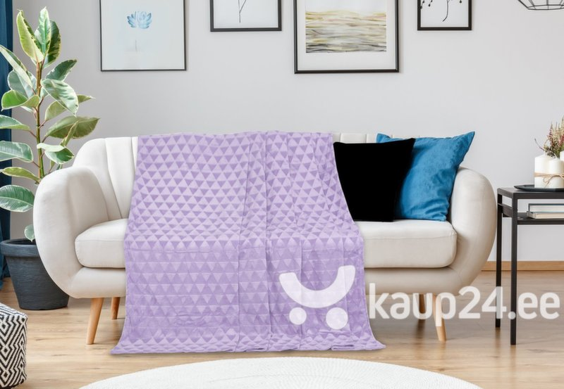 Mikrokiust pleed Decoking Clyde Lilac, 170x210 cm Internetist