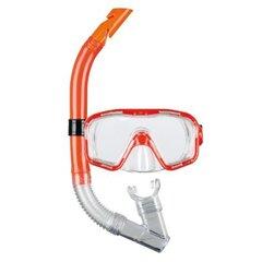 Laste sukeldumise ja snorgeldamise mask Beco KIDS 12+, kollane hind ja info | Snorgeldamise komplektid | kaup24.ee