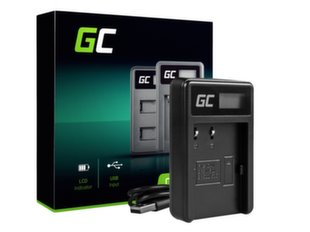 Green Cell Battery Charger CB-5L for Canon BP-511, EOS 5D, 10D, 20D, 30D, 50D, D30, 300D, PowerShot G1, G2, G3, G5, Pro 1 hind ja info | Laadijad fotoaparaatidele | kaup24.ee