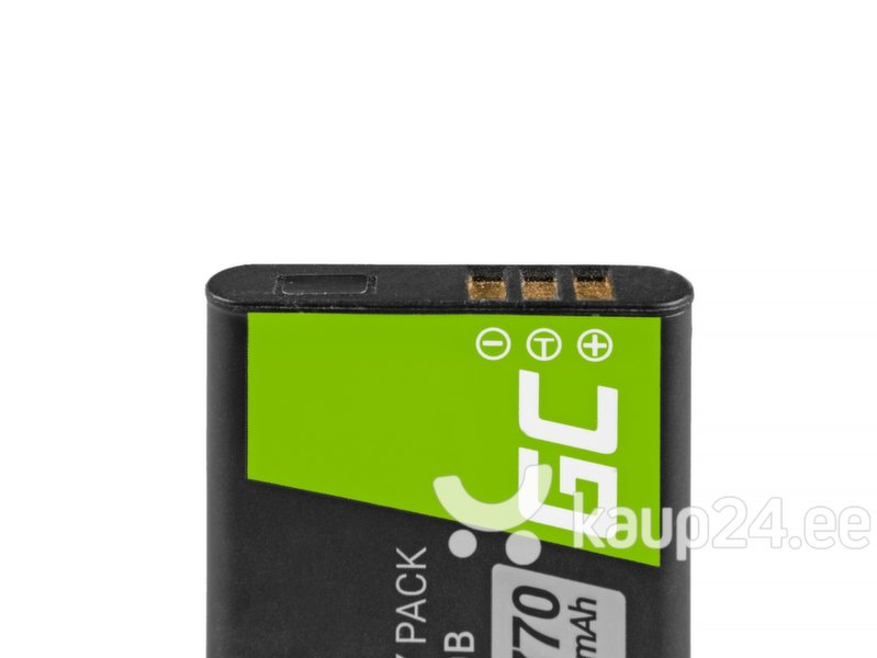 Green Cell® Li-50B for Olympus SZ-15, SZ-16, Tough 6000, 8000, TG-820, TG-830, TG-850, VR-370, XZ-1, XZ-10 3.7V 770mAh