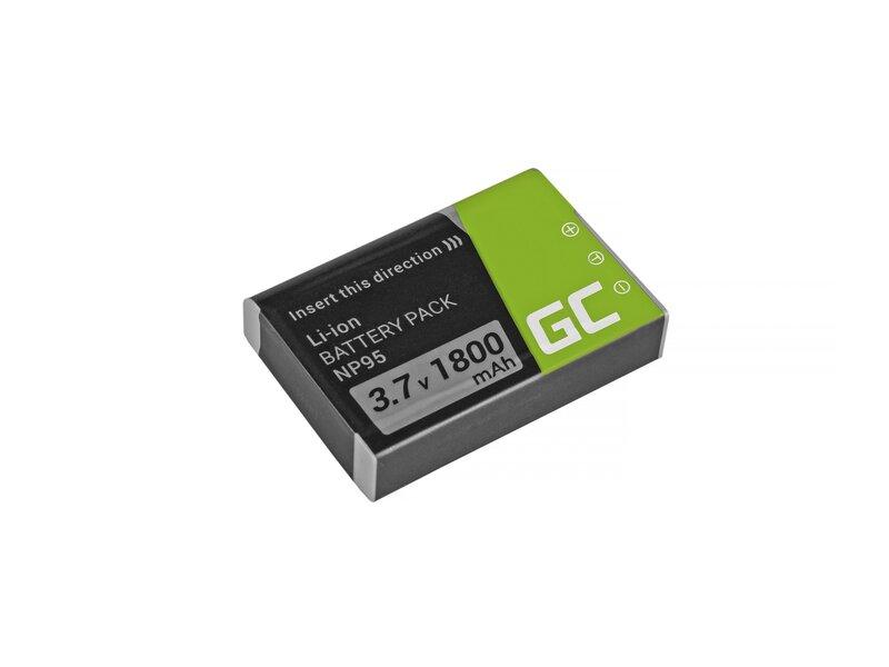 Green Cell® NP-95 Fujifilm Finepix X30 X70 X-S1 X100s X100 X100T F30 F31 3.7V 1500mAh