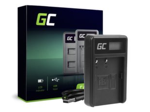 Green Cell Charger MH-18, MH-18A for Nikon EN-EL3, D-SLR D50 D70 D80 D90 D100 D200 D300 D700 D900 hind ja info | Laadijad fotoaparaatidele | kaup24.ee