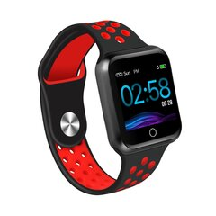 Nutikell ZGPAX S12 HR, Must-punane цена и информация | Смарт-часы (smartwatch) | kaup24.ee