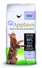 Applaws Dry Cat kana ja pardilihaga, 7,5 kg