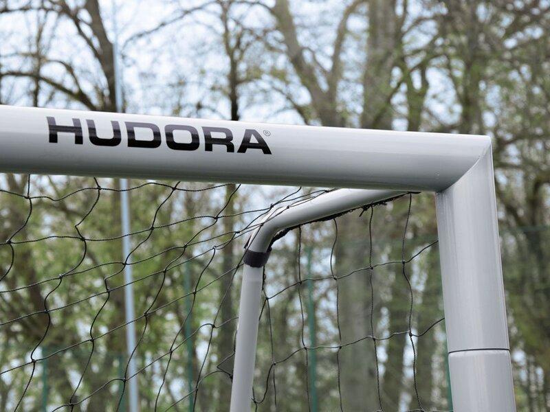 Jalgpallivärav Hudora, 240x160x85 cm, hall