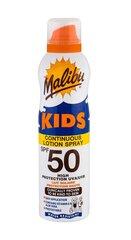Pihustatav päikesekaitselosjoon lasatele Malibu SPF 50 175 ml hind ja info | Päikesekreemid | kaup24.ee