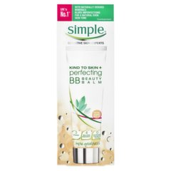 BB крем для лица Simple Kind to Skin Perfecting SPF 15, 50 мл, Honey