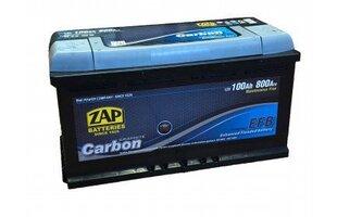 ZAP Carbon EFB 100Ah 800A aku