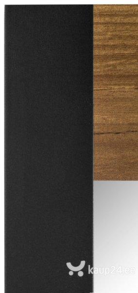 Peegel Herm, pruun/must tagasiside