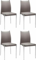Комплект из 4-х стульев Zulu, коричневый