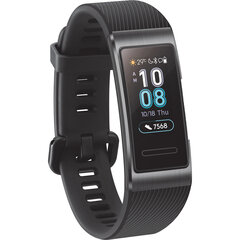 Huawei Band 3 Pro, Must hind ja info | Huawei Band 3 Pro, Must | kaup24.ee