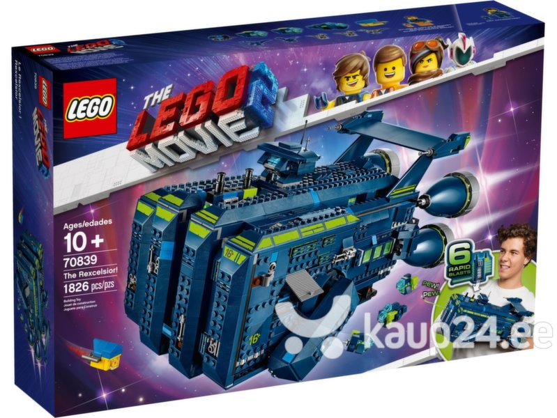 70839 LEGO ® Movie 2 Rexelor!