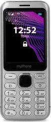 MyPhone Maestro, 64 MB, Dual SIM, Hõbe hind ja info | Mobiiltelefonid | kaup24.ee
