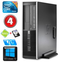 HP 8100 Elite SFF i5-650 4GB 120SSD+500GB DVD WIN10