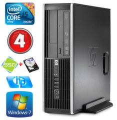 HP 8100 Elite SFF i5-650 4GB 120SSD+500GB DVD WIN7Pro