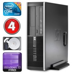 HP 8100 Elite SFF i5-650 4GB 250GB DVD WIN10Pro