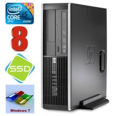 HP 8100 Elite SFF i5-650 8GB 120SSD DVD WIN7Pro