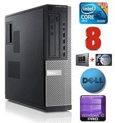 DELL 7010 DT i5-3470 8GB 120SSD+500GB DVD WIN10Pro