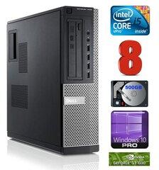 DELL 7010 DT i5-3470 8GB 500GB GT1030 2GB DVD WIN10Pro