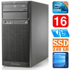 HP ProLiant ML110 G6 i3-550 16GB 240SSD DVD WIN10