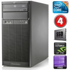 HP ProLiant ML110 G6 i3-550 4GB 120SSD GT710 2GB DVD WIN10Pro