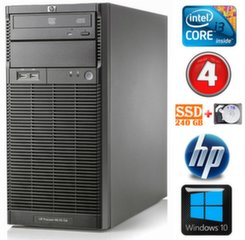 HP ProLiant ML110 G6 i3-550 4GB 240SSD+1TB DVD WIN10