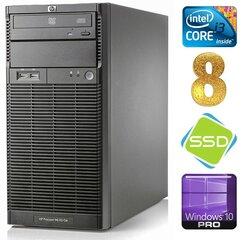 Lauaarvuti HP ProLiant ML110 G6 i3-550 8GB 120SSD DVD WIN10Pro