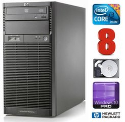 Lauaarvuti HP ProLiant ML110 G6 i3-550 8GB 250GB DVD WIN10Pro