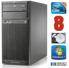 HP ProLiant ML110 G6 i3-550 8GB 250GB DVD WIN7Pro