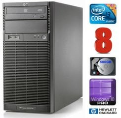 Lauaarvuti HP ProLiant ML110 G6 i3-550 8GB 500GB DVD WIN10Pro