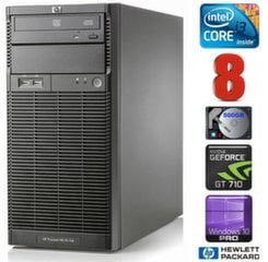 HP ProLiant ML110 G6 i3-550 8GB 500GB GT710 2GB DVD WIN10Pro