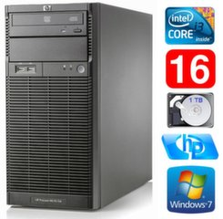 Lauaarvuti HP ProLiant ML110 G6 i3-550 16GB 1TB DVD WIN7Pro