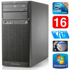 HP ProLiant ML110 G6 i3-550 16GB 500GB DVD WIN7Pro