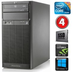 HP ProLiant ML110 G6 i3-550 4GB 120SSD GT710 2GB DVD WIN10