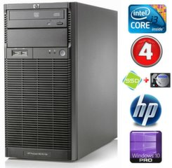 HP ProLiant ML110 G6 i3-550 4GB 120SSD+500GB DVD WIN10Pro