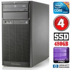 HP ProLiant ML110 G6 i3-550 4GB 480SSD DVD WIN10Pro